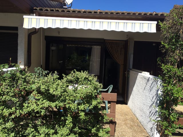 Appartement avec terrasses proche océan - Lit-et-Mixe - Selveierleilighet