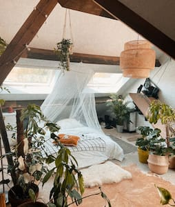 Cosy Green Attic Ghent