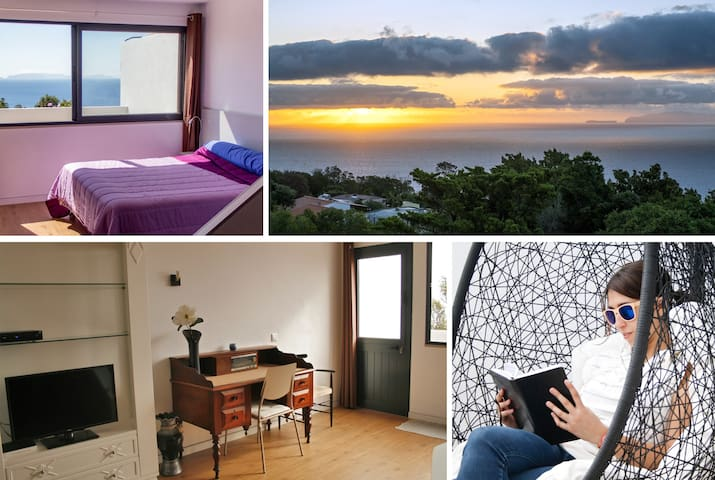 Cozy Apartment, Fantastic Sea View in Machico