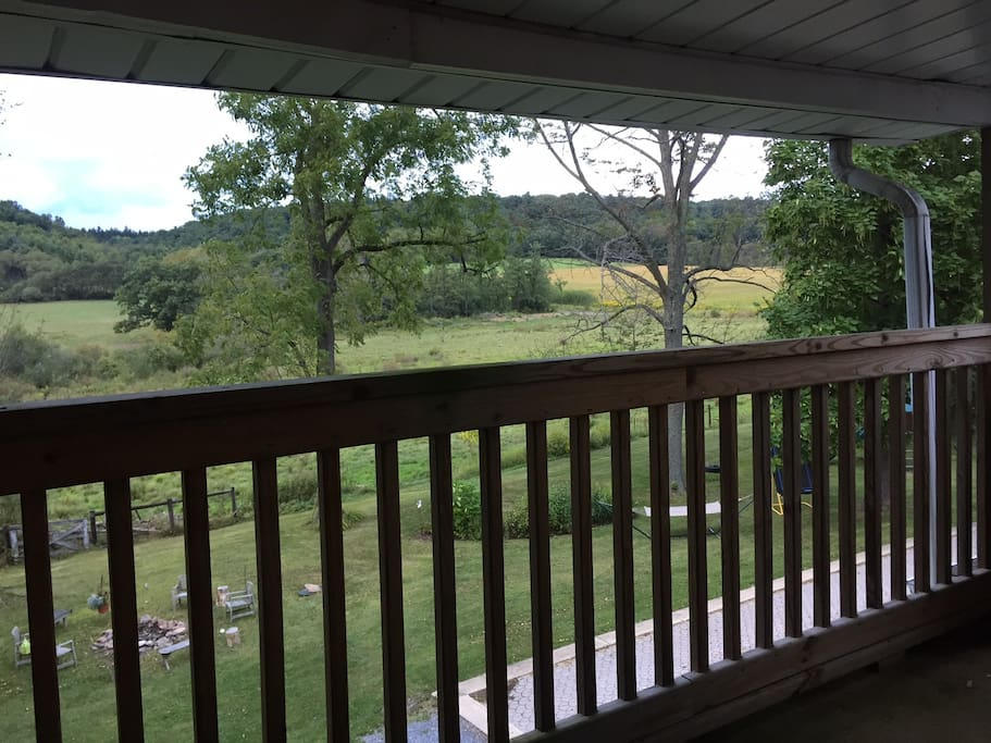 View from Guest Room Porch