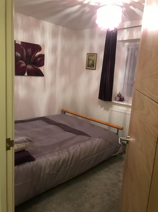 Double bedroom , king sized bed