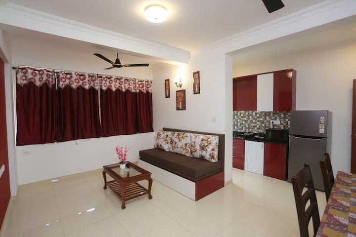 I2 - Single Bedroom at Picnic Residency