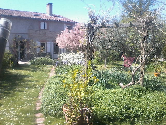 Chambres d'hôtes, galets - Fontenilles - Dom