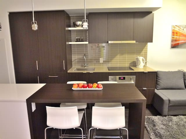 Newly Built Modern Downtown Condo Amazing Location
