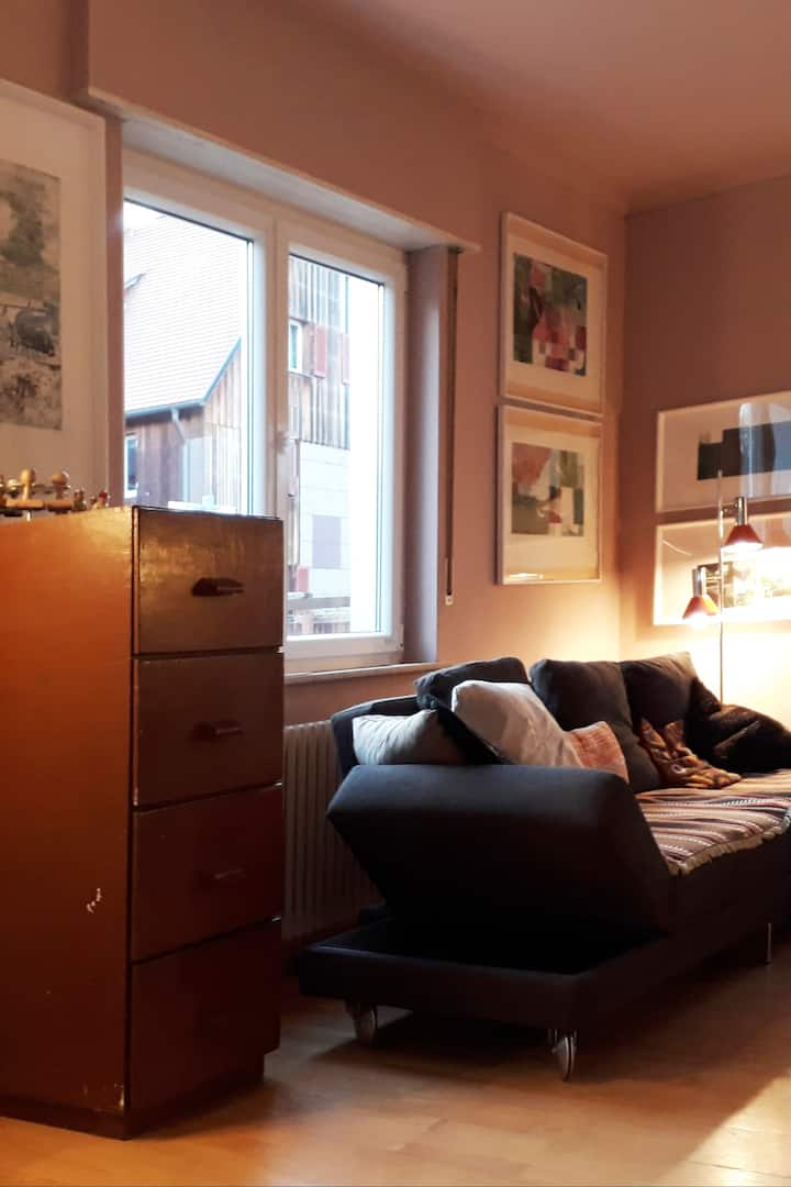 Wohnzimmer-Atelier
