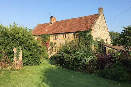 Creative haven on a Somerset Farm - Wick - Rumah