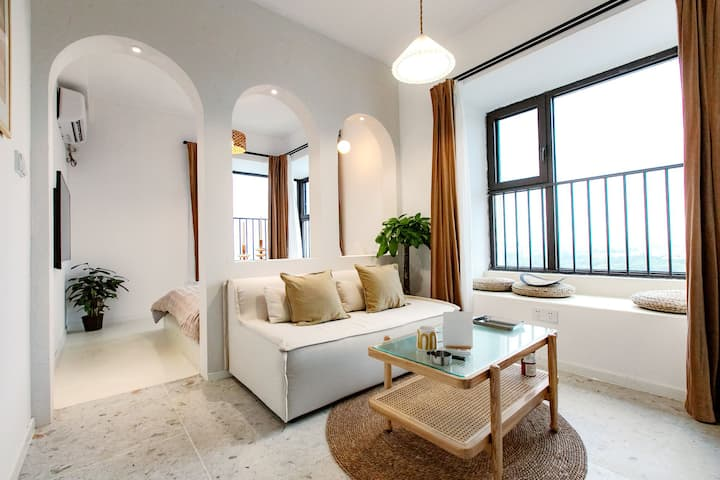 【500 Miles】南京南站/ins风轻工业风/设施齐全/高层/万科酒店式公寓