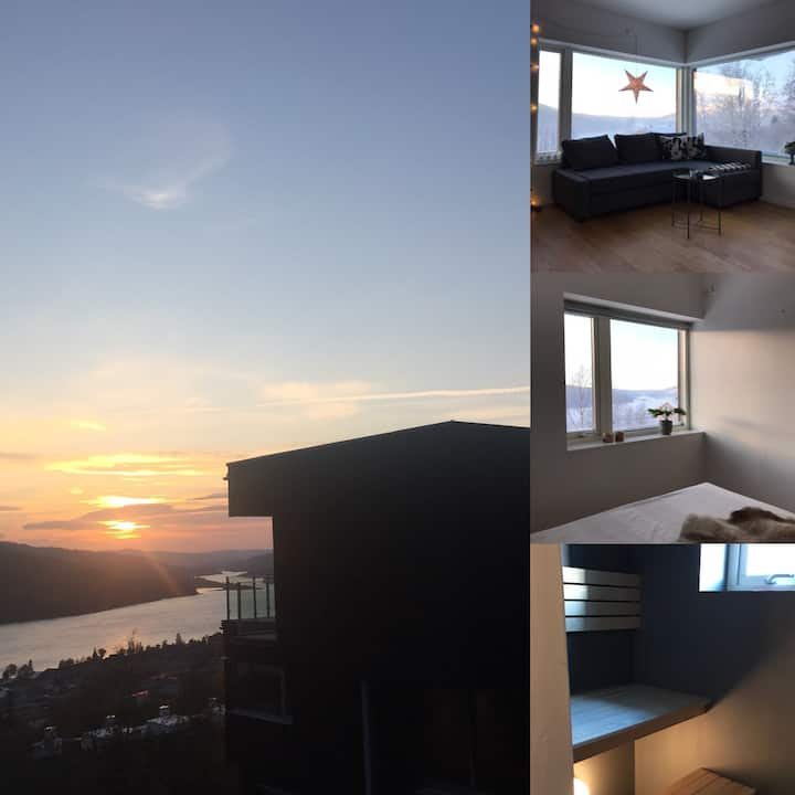 Apartment in Åre village with spectacular view