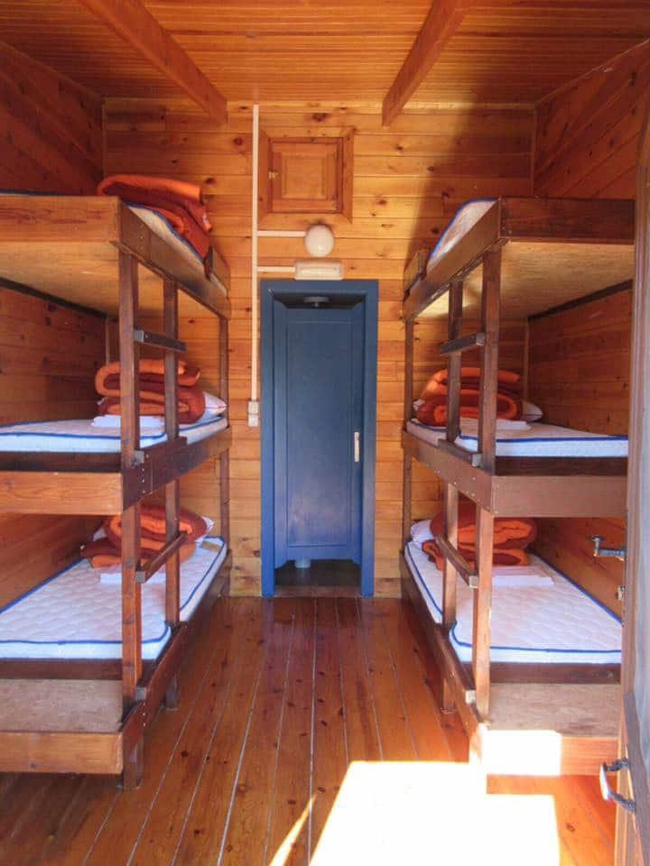 Habitación 4 personas con literas