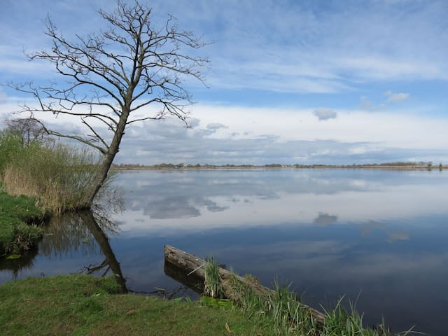 Lake retreat near Amsterdam -  corona free village