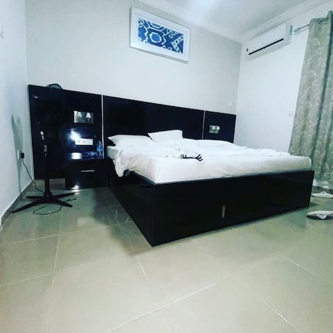 Modern fully furnished 2 bedroom apartment.