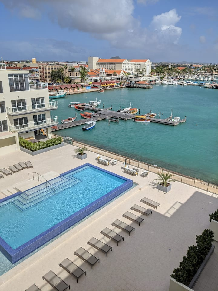 Luxury condo with infinity pool and ocean view