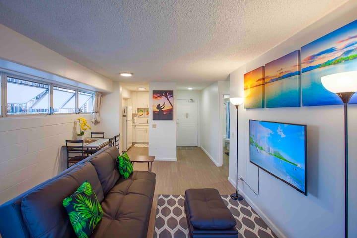 Waikiki ocean view penthouse