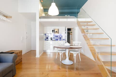 Explore the Heart of the City from a Sunny Loft