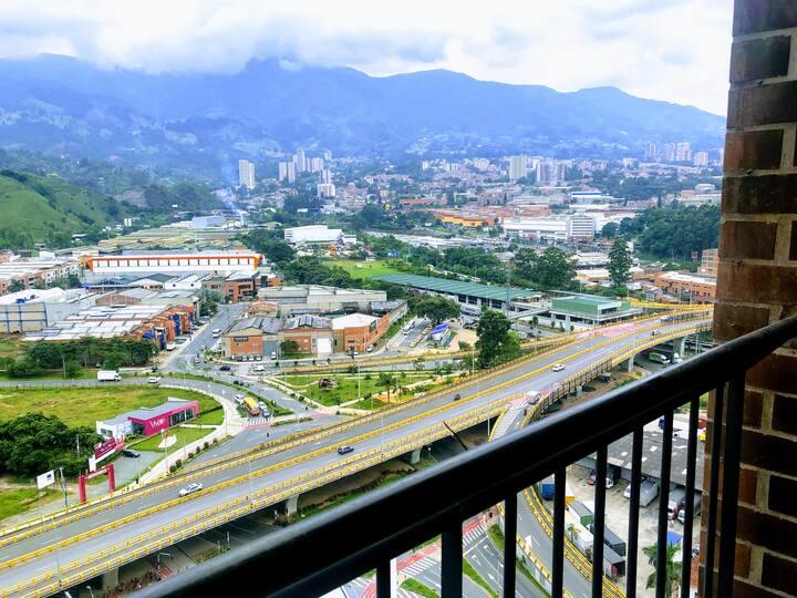 Apartamento nuevo, ubicación perfecta y gran vista