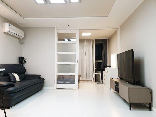 자가격리가능 대치동[coex smtown & samsung stn] modern house