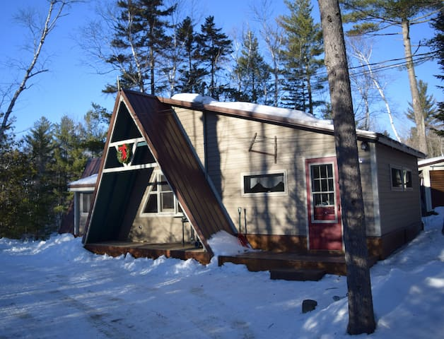 Riverside Camp located on Carrabassett River - Carrabassett Valley - Casa
