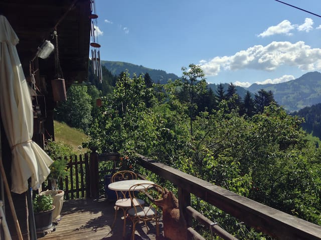 """Gstaad - """"Paradise view"""" Chalet - Rougemont - Chalet"""