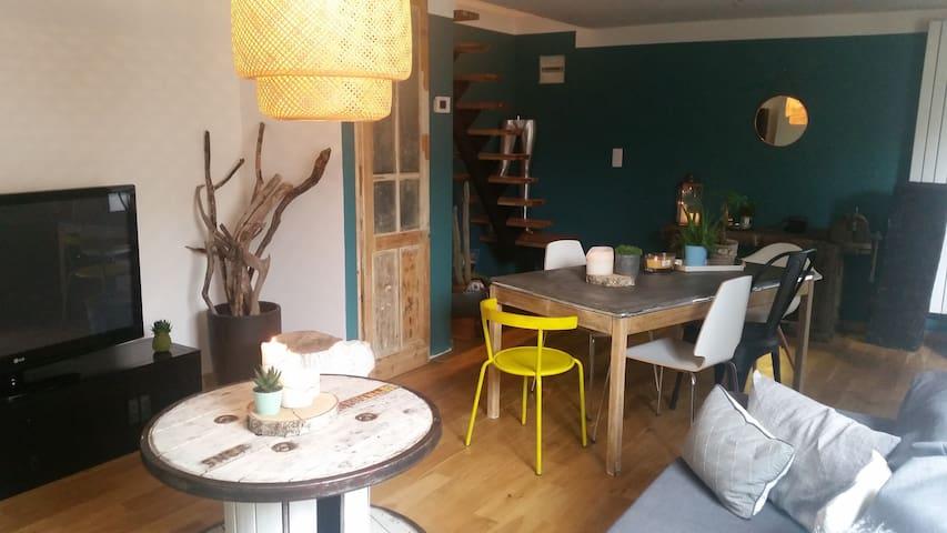Agréable maison à 15 min de Lille / 30 min de Lens - Sainghin-en-Weppes - Casa