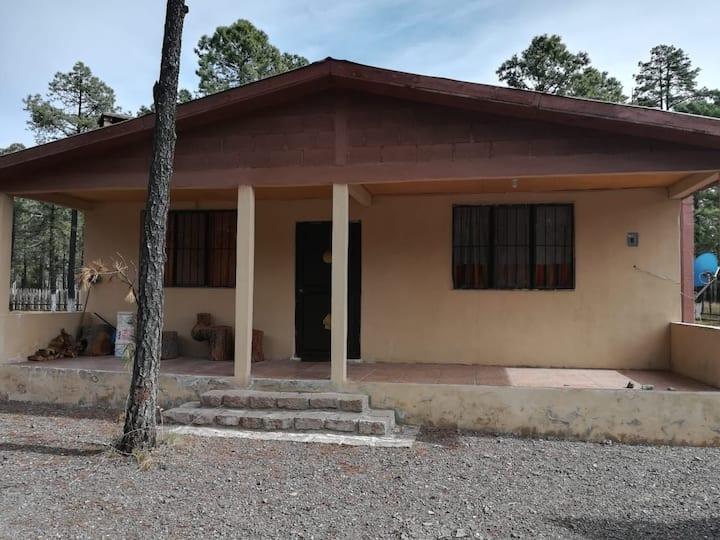 Casa de campo Llano grande Durango
