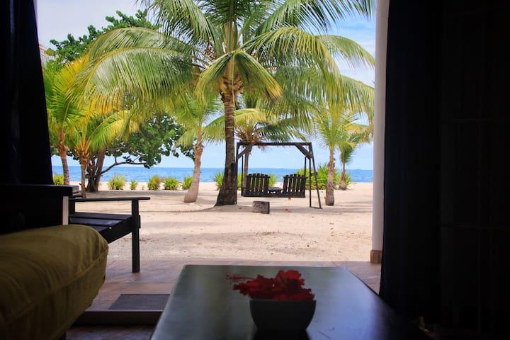 Private Beachfront Apartment on the Caribbean Sea