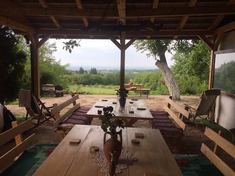 Sumski Mir, a place with a view Fruska Gora Irig