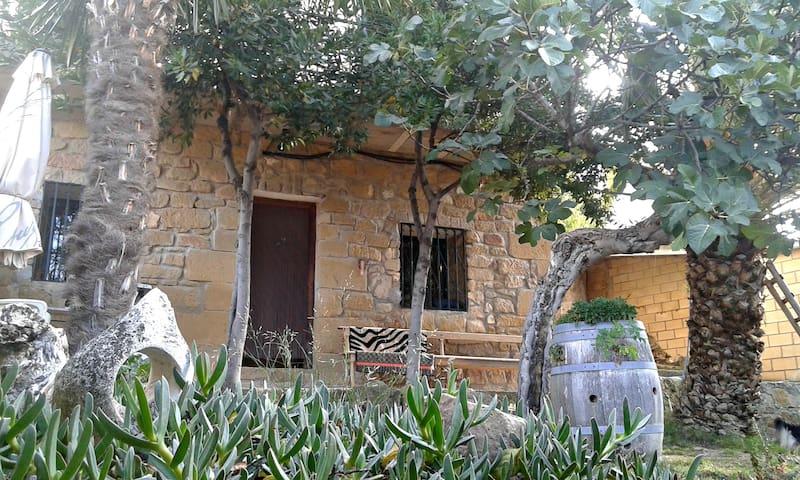 LARRAIN ETXEA casa rural entre viñedos - Mañueta - House