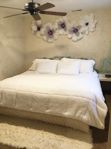King size bed, fast WiFi and in the heart of SLC!
