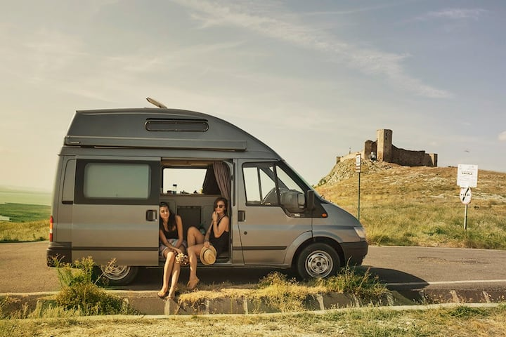 "Discover wild  Romania with ""Buffalo"" camper van."