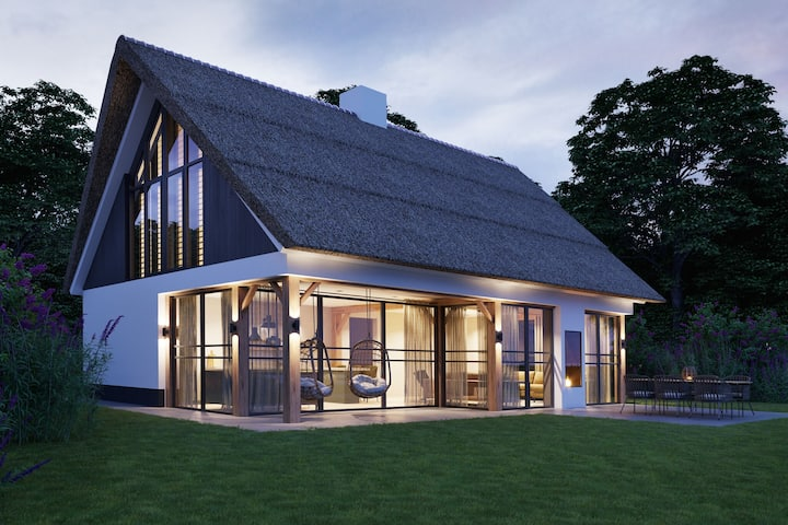 Luxury villa with sauna only a few minutes from the beach