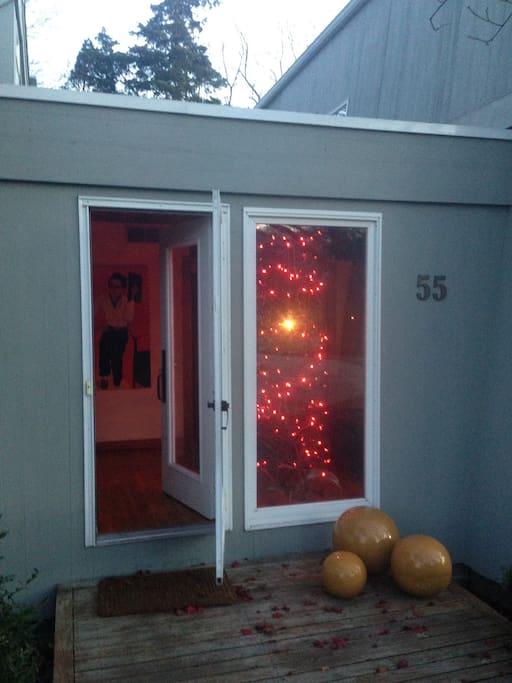 Front door entrance.