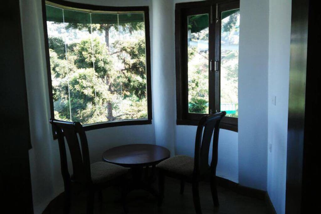 One of the bedroom with a view. Perfect for a couple.