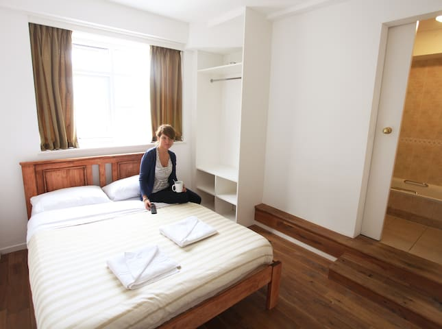 Double Ensuite Room in a Boutique Hostel