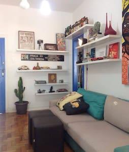 Charming and Cozy apartment Jardim Botânico, Horto - Rio de Janeiro - Apartment