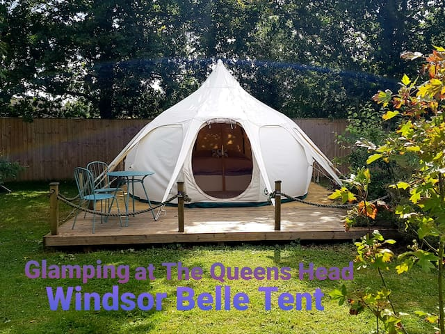 Glamping at The Queens Head (Windsor 2 people)