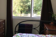 Double Room with 1 Double Bed View to Back Garden