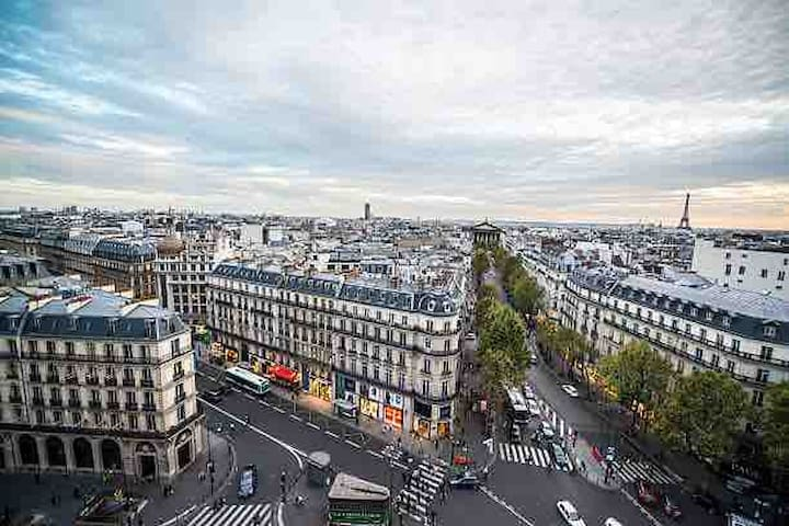 Magnifique studio au centre-ville paris 9