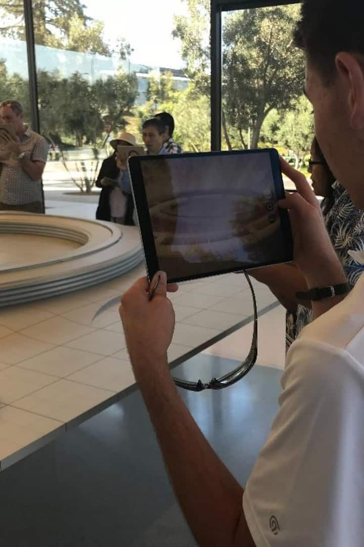 Apple Park Engaging Visitor Center