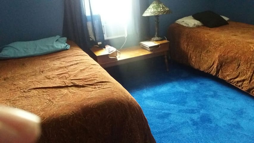 For rent is a 1 bedroom private bath lockoff suite