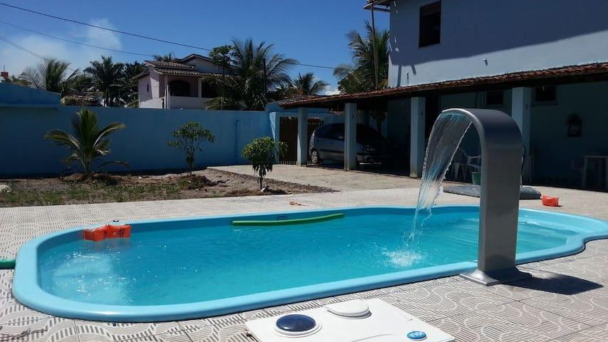 Guaibim Casa com piscina, com 5 quartos e  WI FI