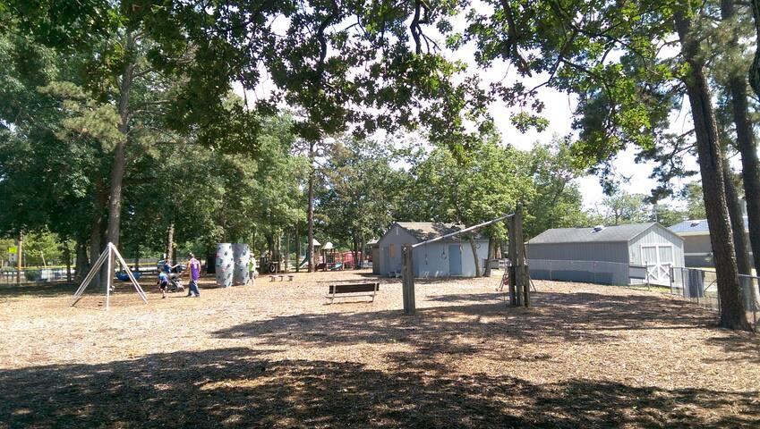 Playground at Mayo Park