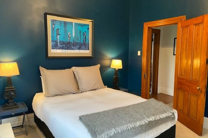 The blue room - has beautiful garden views