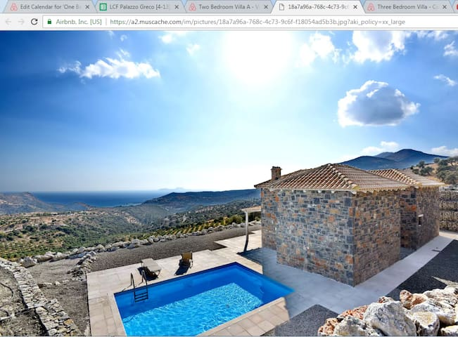 Two Bedroom Villa N1 - Agia Galini - Villa