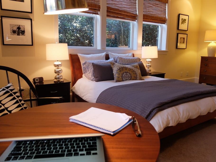 Bedroom and work table