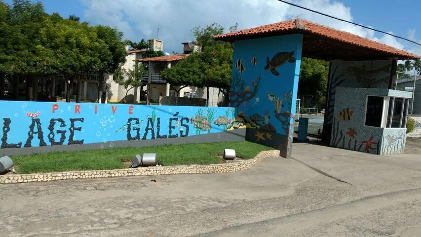Chalés a beira-mar em Peroba/Maragogi