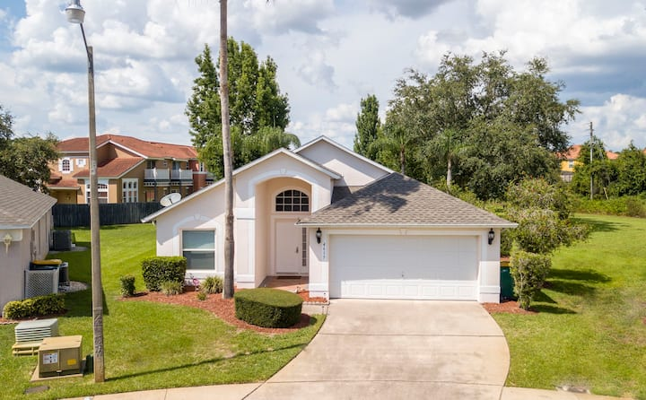 SingleHouse - 3 Bedrooms - Close to Disney