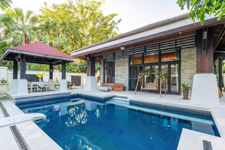 亚龙湾慢慢游一室两床私家泳池独栋别墅