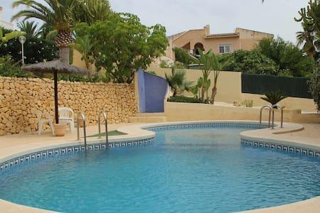 At Benidorm detached holiday villa in Altea