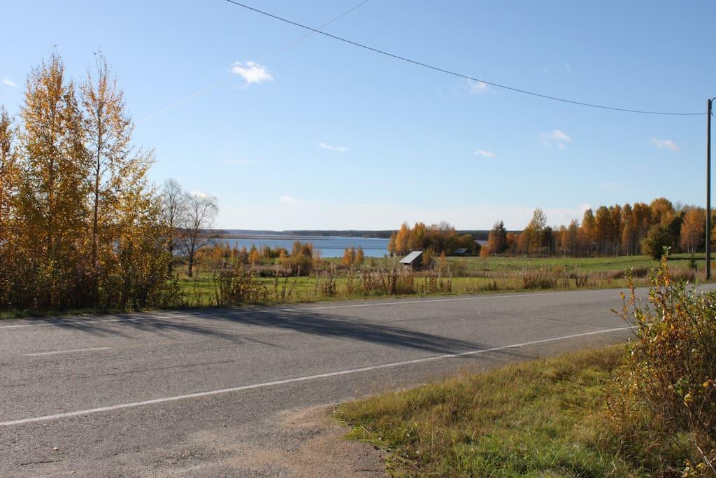 Näköala järvelle