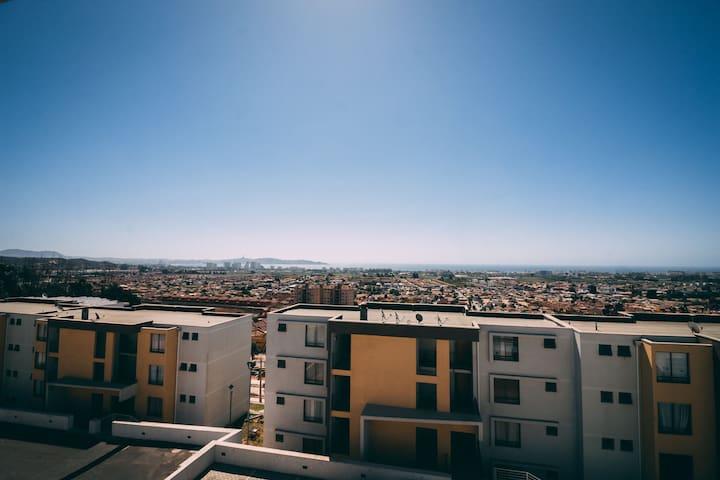 Habitación en Dpto - San Joaquin